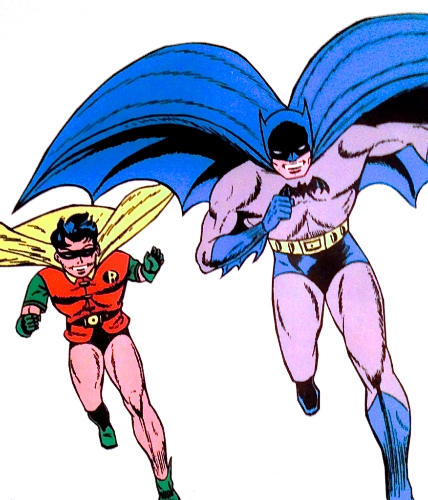 Batman and Robin, the Boy Wonder