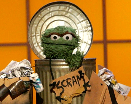 Oscar-the-Grouch---SCRAM